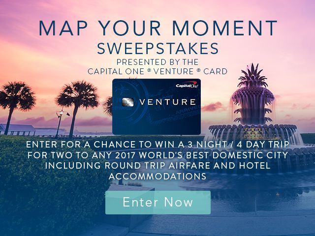 Travel and leisure sweepstakes