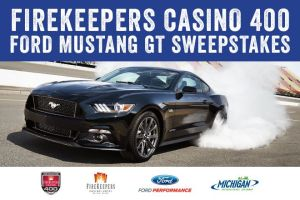 Firekeeper's Casino 400 2017 Ford Mustang GT Sweepstakes