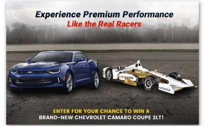 Team Penske Chevy Camaro Sweepstakes #ChevyCamaroContest