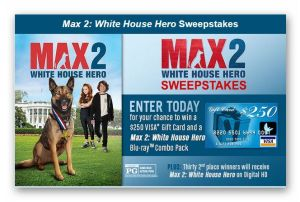 Max2 White House Hero Sweeps #Max2 Win $250 Visa Gift Card – Ends