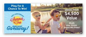 25th Anniversary Summer of Fun Instant Giveaway (for teachers and educators only)