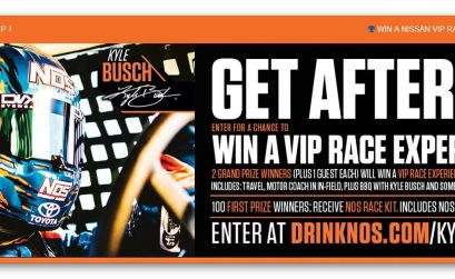 Win a VIP Race Experience with Kyle Busch