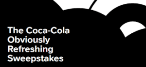 Coca Cola Obviously Refreshing Sweepstakes