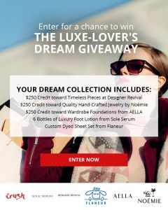 The Luxe-Lover's Dream Giveaway
