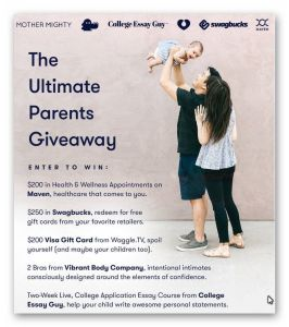 Ultimate Parents Giveaway 2017