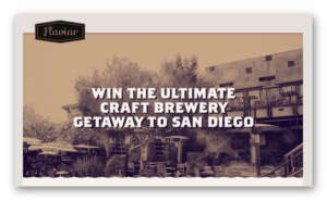 Win the Ultimate Craft Brewery Getaway to San Diego