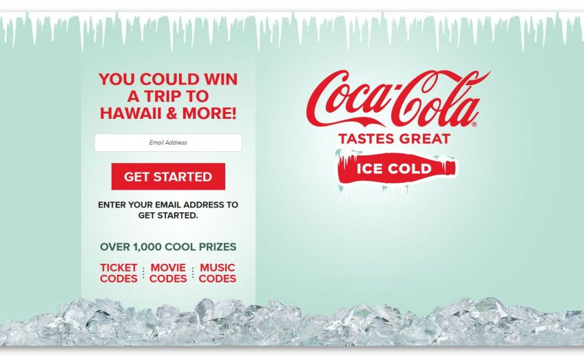 coca cola sweepstakes contests golden goose giveaways 5057