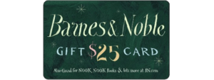 Win a $25 Barnes & Noble Gift Card