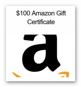 Only 24 hours left! Win a $100 Amazon Gift Certificate from 617VIP.com