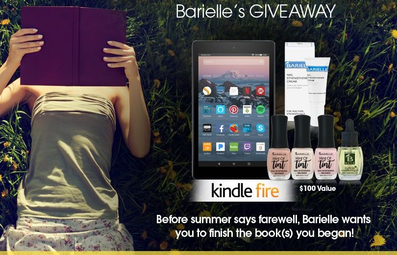Barielle's Summer Reads Giveaway