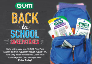 GUM® Back To School Sweepstakes