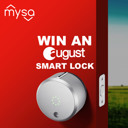 Mysa - Win an August Smart Lock