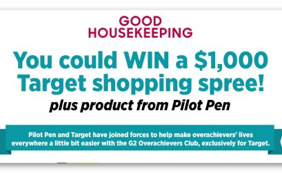 Good Housekeeping $1,000 Target Shopping Spree