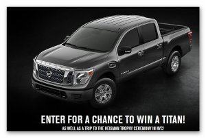 The Nissan® Heisman House Sweepstakes