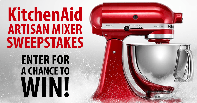 WholeMom - KitchenaidArtisan Mixer Sweepstakes