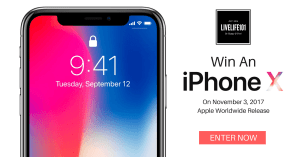 Win An iPhone X! (Digital Lifestyle Giveaway)