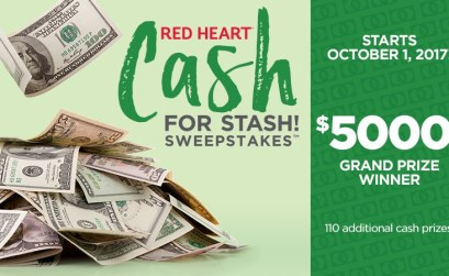 Cash for Stash Sweepstakes