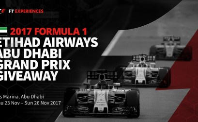 F1 Experiences Abu Dhabi Grand Prix Giveaway