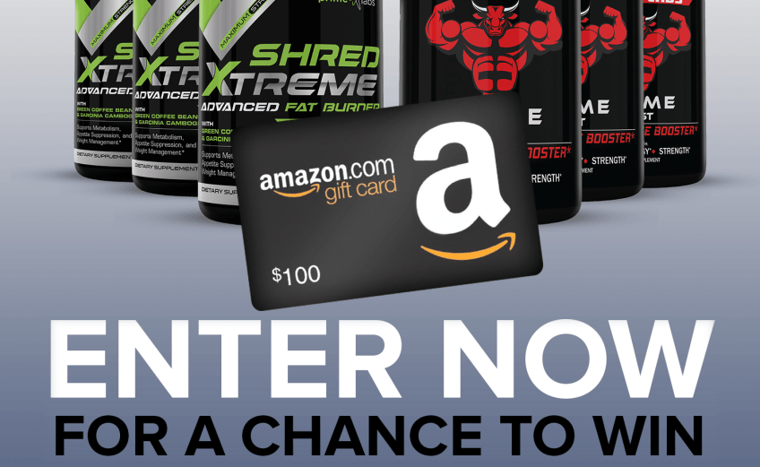 Prime Labs $100 Amazon Gift Card Giveaway