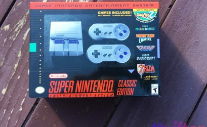 Win a Nintendo SNES Classic console from Thrifter