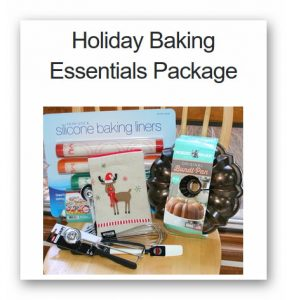 Holiday Baking Essentials Giveaway