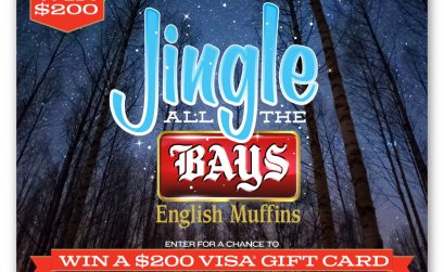 Jingle All the Bays Sweepstakes