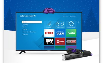 Roku Holiday Sweepstakes- Win an Element Roku TV