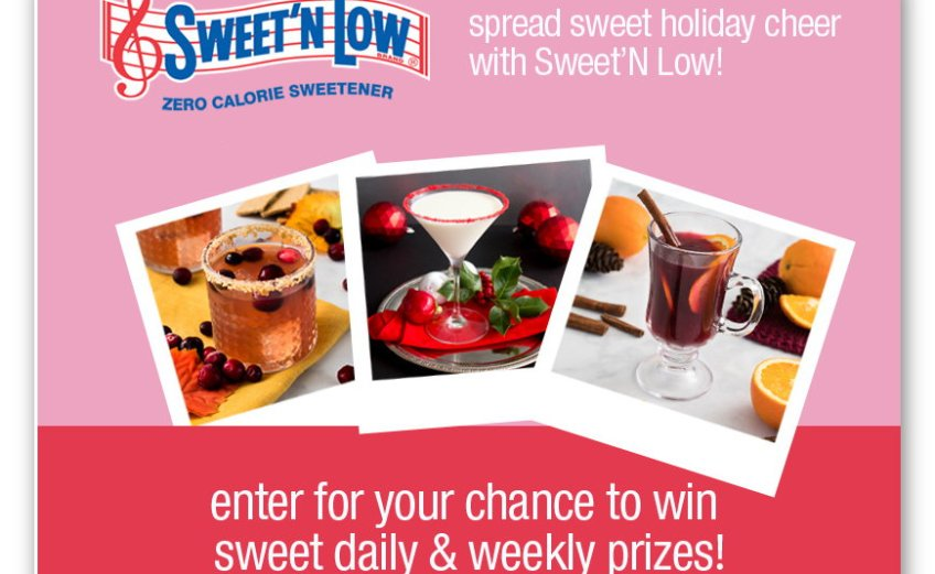 Sweet'N Low Spread Sweet Holiday Cheer Sweepstakes