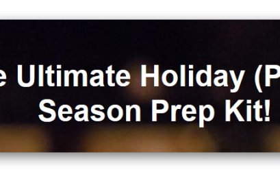 $1200 Ultimate Holiday Party Prep Kit Sweepstakes