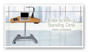 Levenger's UPgrade Your Office Sweepstakes