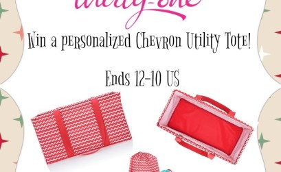 Win a Personalized Thirty-One Large Utility Tote