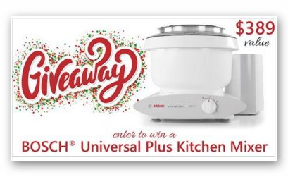 Bosch Holiday Giveaway