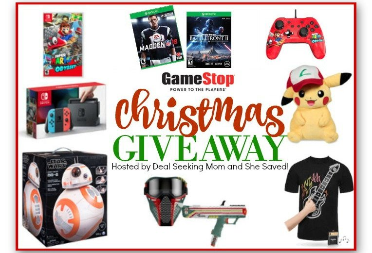 Huge Gamestop Prize Pack Giveaway