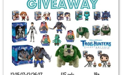 Huge Dreamworks Trollhunters Funko Pop Giveaway
