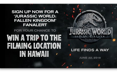 Jurassic World Fallen Kingdom Fan Alert Sweepstakes