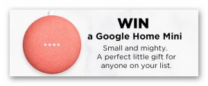 iHeartRadio & Google Home Mini Giveaway