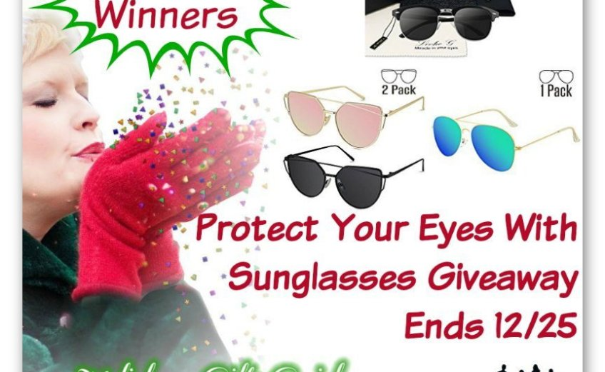 Protect Your Eyes With Sunglasses Giveaway
