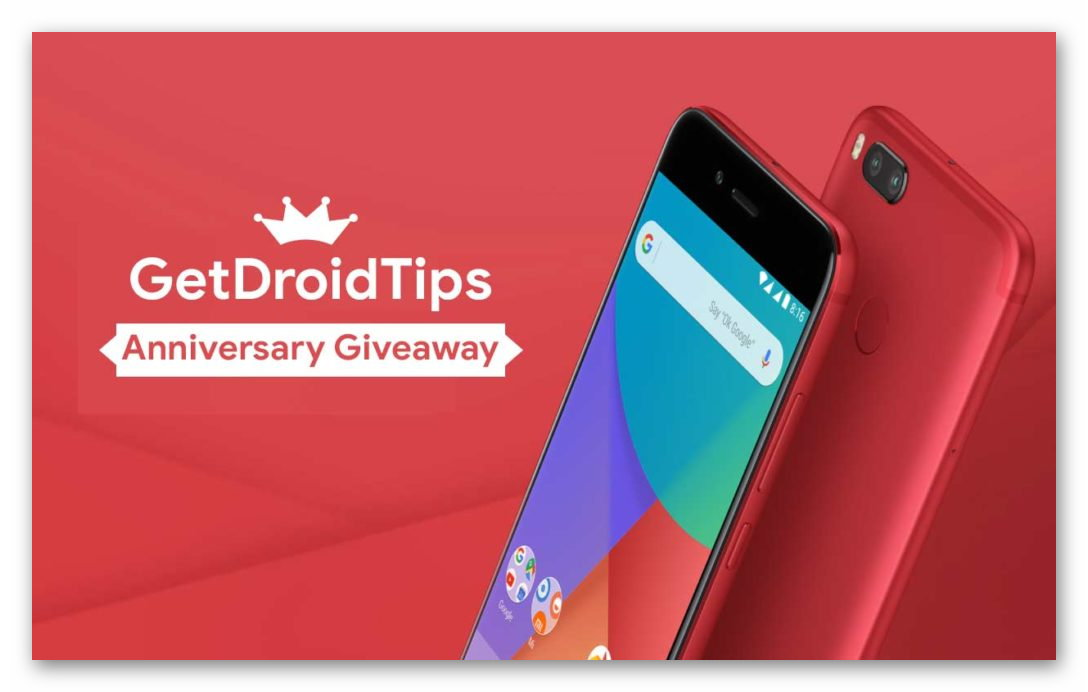 Get Droid Tips Anniversary Giveaway (Worldwide) Ends April 25th
