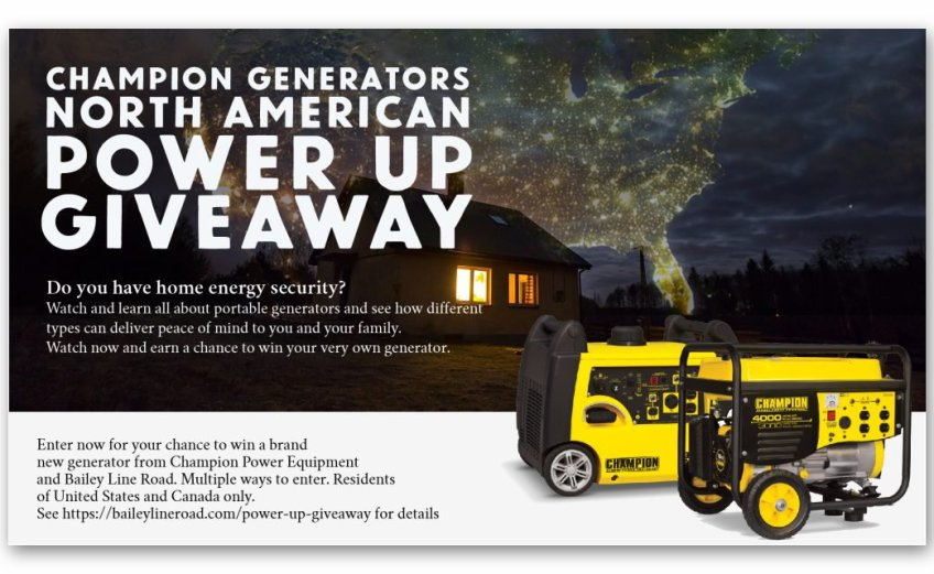 Power Up North America Giveaway