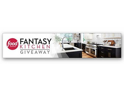 Food Network Fantasy Kitchen Giveaway - Ends April 16th