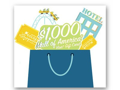 Win a $1,000 Mall of America Visa Gift Card - Ends April 29th