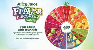 Juicy Juice Flavor Discovery Instant Win Game