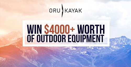 Win over $4000 in Outdoor Equipment - Ends Feb 26th