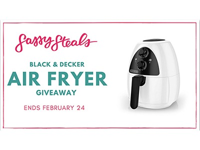 Sassy Steals Air Fryer Giveaway - Ends Feb 24th
