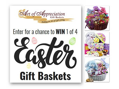 Win a Fully loaded Easter Basket (4 winners) - Ends March 25th