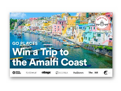 Win a Trip for Two to Amalfi Coast