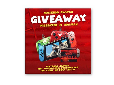 Super Mario Odyssey Nintendo Switch Giveaway - Ends  May 1st