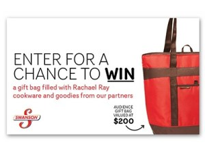 Win Rachel Ray Cookware and Goodie Bag