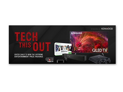 Tech This Out Extreme Entertainment Sweepstakes - Ends May 31st