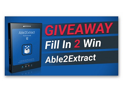 Win Able2Extract Professional 12 PDF Converter, Creator, and Editor Software